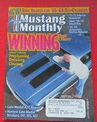 Mustang Monthly Magazine Jan/2001...late-model Strokers...'65-68 Shifter Rebuild