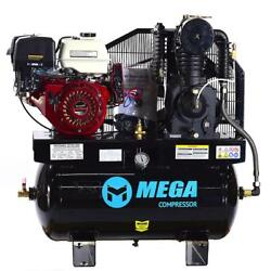 Mega Power Mp-15030hg 15 Hp Lifan Electric Start 30 Gallon Truck Mount Two Stage