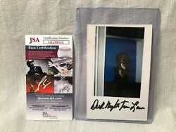 Night Train Lane Handsigned Nfl Hall Of Fame Jsa Authenticated Autograph Gg50334
