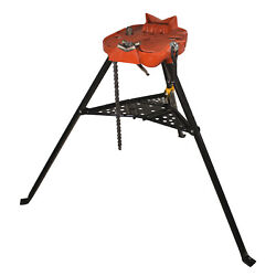 Reconditioned Ridgid® 460-6 Portable Tristand® Chain Vise Stand 36273