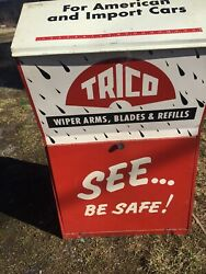 Trico Wiper Blades Gas Service Station General Store Display Auto Dealership
