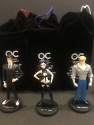 The Oc Atomic County Maquette Action Figures Comic Con 2006 Dc Direct