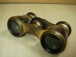 Old German Busch Small Opera Theater Glasses Binoculars With Pearl Nr. 671