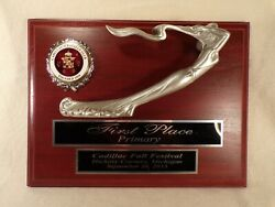 Cadillac Lasalle Club Hood Ornament Style First Place Trophy Award