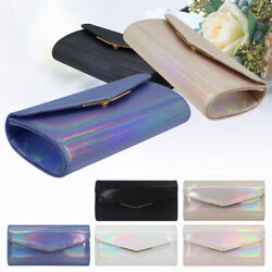 Women Envelope Style Night Out Evening Purse Wedding Prom Party Clutches Bags $13.92