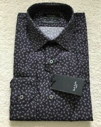 Paul Smith Long Sleeve Formal Tailored Fit Shirt Ant Design Rrp £185