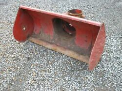 Wheel Horse 518-h Tractor 79361 44 Two-stage Snowthrower Auger Housing