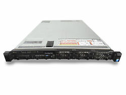 Dell Poweredge R630 8x Sff 1u W/ 2x E5-2620v3 128gb 8x 960gb Ssd H730