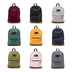 Authentic Jansport Right Pack Backpack Student School Laptop Bag תיק ג'נספורט