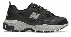 New Balance Men's 801 Trail Shoes Black with Silver