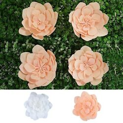 12 Wide Artificial Daisy Flowers For Wall Backdrop Wedding Diy Decorations Sale