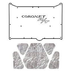 Hood Insulation Pad Cover For 1968-1970 Dodge Coronet W/mb-065 Coronet R/t