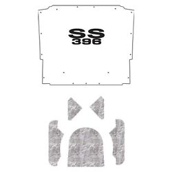 Backorder Only Hood Insulation Pad Cover For 1970-1972 Chevrolet El Camino W/g-