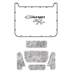 Hood Insulation Pad Cover For 1971-1974 Dodge Charger W/mb-055 Charger R/t