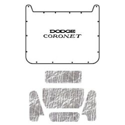 Hood Insulation Pad Cover For 1971-1974 Dodge Coronet/charger W/mb-060 Charger