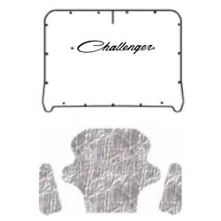 Hood Insulation Pad Cover For 1970-1974 Dodge Challenger W/me-020 Challenger