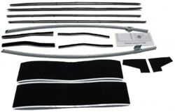 Window Sweeps Felt Kit For 1964-66 Ford Mustang 2 Door Convertible Usa Made