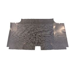 Trunk Floor Mat Cover For 1970 Dodge Coronet 2dr Hardtop Rubber Gray Houndstooth