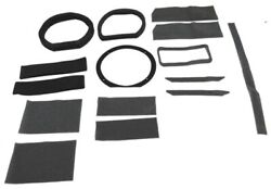 Heater Box Gasket Kit Weatherstrip Seal For Ford Mustang 1969-70 2dr Rubber W/ac