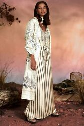 New Camilla Franks Silk Linen Crystals Memories Of Moree Duster Coat Layby Ava