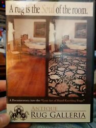 New Dvd Lost Art Of Hand Knotting Rugs - Persian Tapestries Needlepoint Decor