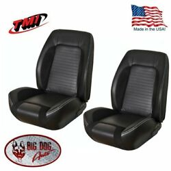Sport R Front/rear Upholstery For 1969 Camaro Convertible Tmi Made In Us