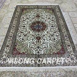 Yilong 5and039x7and039 Handwoven Silk Area Rug Family Room Oriental Classic Carpet H322b