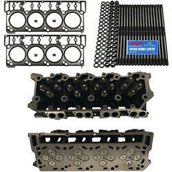 New 20mm Cylinder Heads Arp Mahle Head Gaskets - Fits Ford Powerstroke 6.0l