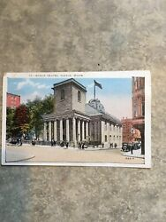 Vintage Boston Postcards