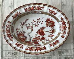 Spode Copeland Indian India Tree Oval Serving Bowl New Mark Chinoiserie Toile 1