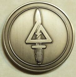 Delta Force Special Forces Silver Toned Cag Tier-1 Army Challenge Coin
