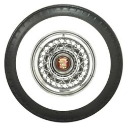 Coker 820r15 American Classic 3 1/4 Whitewall Radial Bias Look Tire