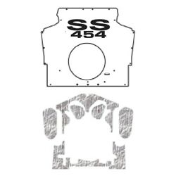 Hood Insulation Pad Cover For 1975-1981 Chevrolet Camaro F-body W/g-ss454 Ss-454