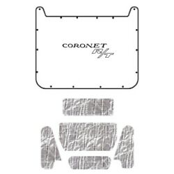 Hood Insulation Pad Cover For 1971-74 Dodge Coronet/charger W/mb-065 Charger R/t