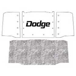 Hood Insulation Pad Heat Shield For 61-71 Dodge Truck Under Cover W/m-075 Dodge