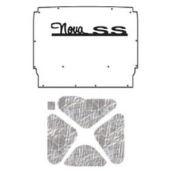 Backorder Only Hood Insulation Pad Heat Shield For 1962-1965 Chevy Nova Under C