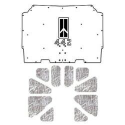 Hood Insulation Pad Cover For 1973-1975 Oldsmobile A-body W/g-102 Olds 442