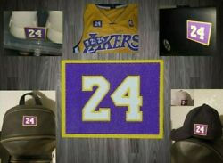 Kobe Bryant Lakers Jersey Patch Los Angeles Peel/stick On Signed Item Basketball