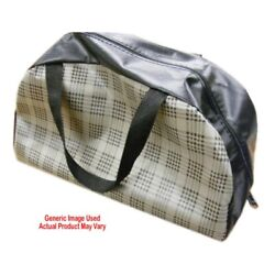 Trunk Tote Bag Large Red Houndstooth