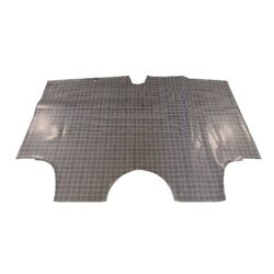 Trunk Floor Mat Cover For 62 Ford Galaxie 2-door Convertible Rubber Large Plaid