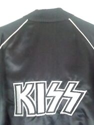 KISS VINTAGE CASABLANCA RECORDS PROMO SATIN JACKET  LARGE  ORIG OWNER