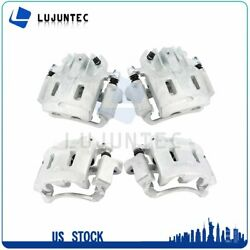 Front + Rear Brake Calipers Pairs For 1999 2000 2001-2004 Ford F-350 Super Duty