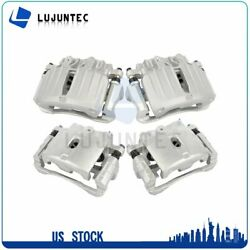 Front + Rear Brake Calipers Pair For 2000 2001 2002 2003-2006 Chevrolet Tahoe