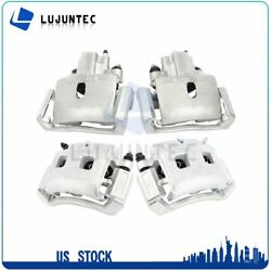 Front + Rear Brake Calipers Pairs For 2002 2003 2004 2005 Dodge Ram 1500