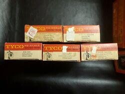 Vintage Ho Scale Tyco 5 Electric Train Lot 2 New Old Stock