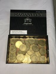 40 1 Collectible Gaming Tokens With Collectible Cigar Box From Macanudo