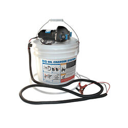 Jabsco 17850-1012 Diy Engine Oil Change System W/ Pump And 3.5 Gallon Bucket Boat