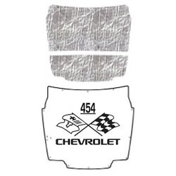 Hood Insulation Pad Heat Shield For 1956-1957 Chevrolet Corvette With Ceid-454