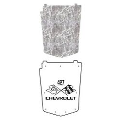 Hood Insulation Pad Heat Shield For 1973-1982 Chevy Corvette Under With Ceid-427