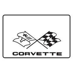 Trunk Floor Mat Cover And Insulation For 1968-1982 Chevy Corvette W/g-036 Script